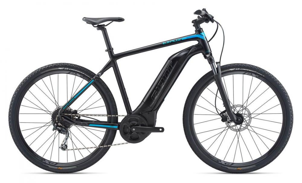 KOLO GIANT EXPLORE E+ 4 GTS L 2020 black