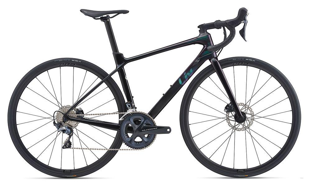 KOLO GIANT LIV LANGMA ADVANCED 1 DISC S 2021 metallic black