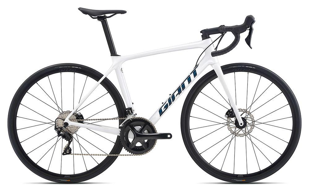 KOLO GIANT TCR ADVANCED 2 DISC PRO COMPACT M 2021 white