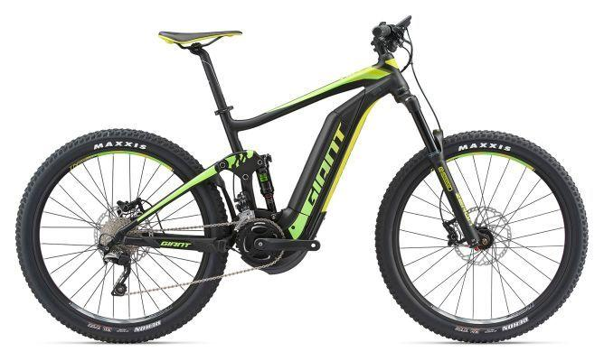 KOLO GIANT FULL E+ 2 L 2018 black green lemon