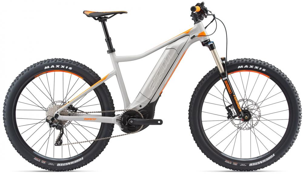 KOLO GIANT DIRT E+ 2 PRO XS 2018 Grey Neon Orange
