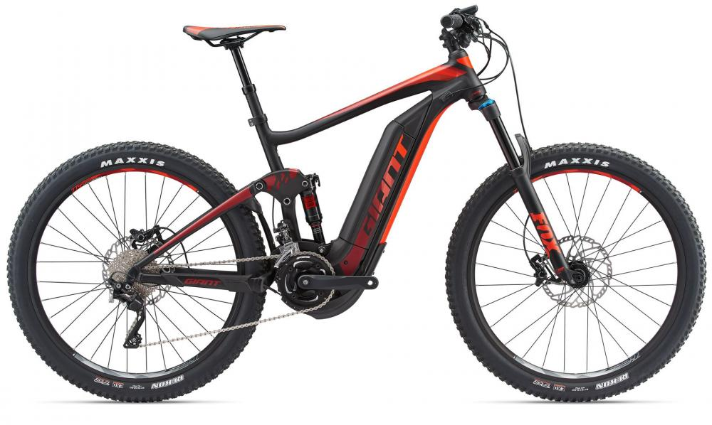 KOLO GIANT FULL E+ 1.5 PRO L 2018 black red