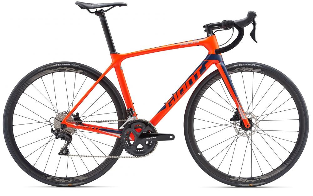 KOLO GIANT TCR ADVANCED 2 DISC M 2019 neon red