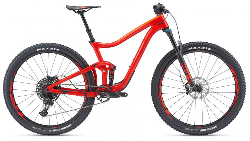 KOLO GIANT TRANCE ADVANCED PRO 29er 2 L 2019 pure red