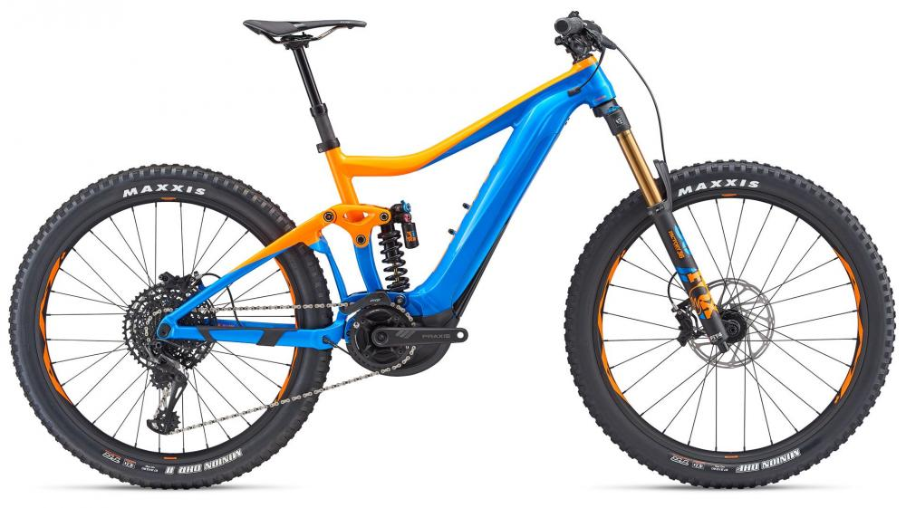 KOLO GIANT TRANCE SX E+ 0 PRO M 2019 orange blu