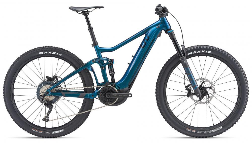 KOLO GIANT INTRIGUE E+ 1 PRO M 2019 chameleon blue