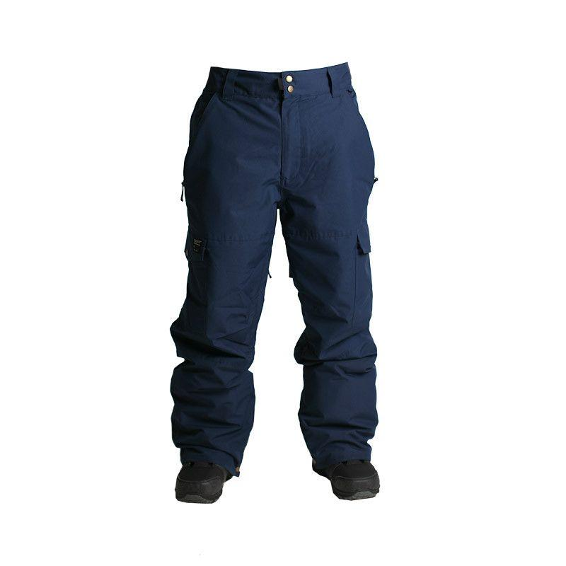 HLAČE RIDE PHINNEY PANT INSULATED  navy rip stop L 2017