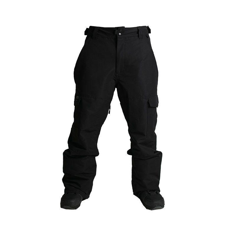 HLAČE RIDE PHINNEY PANT INSULATED black rip stop S 2017