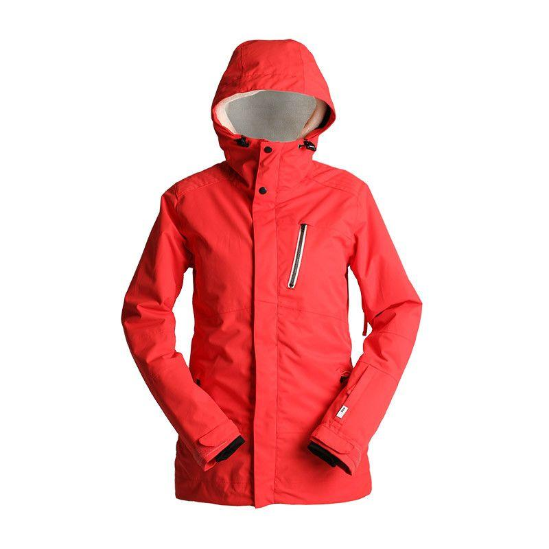 BUNDA RIDE BELMONT JACKET poppy red XS 2017