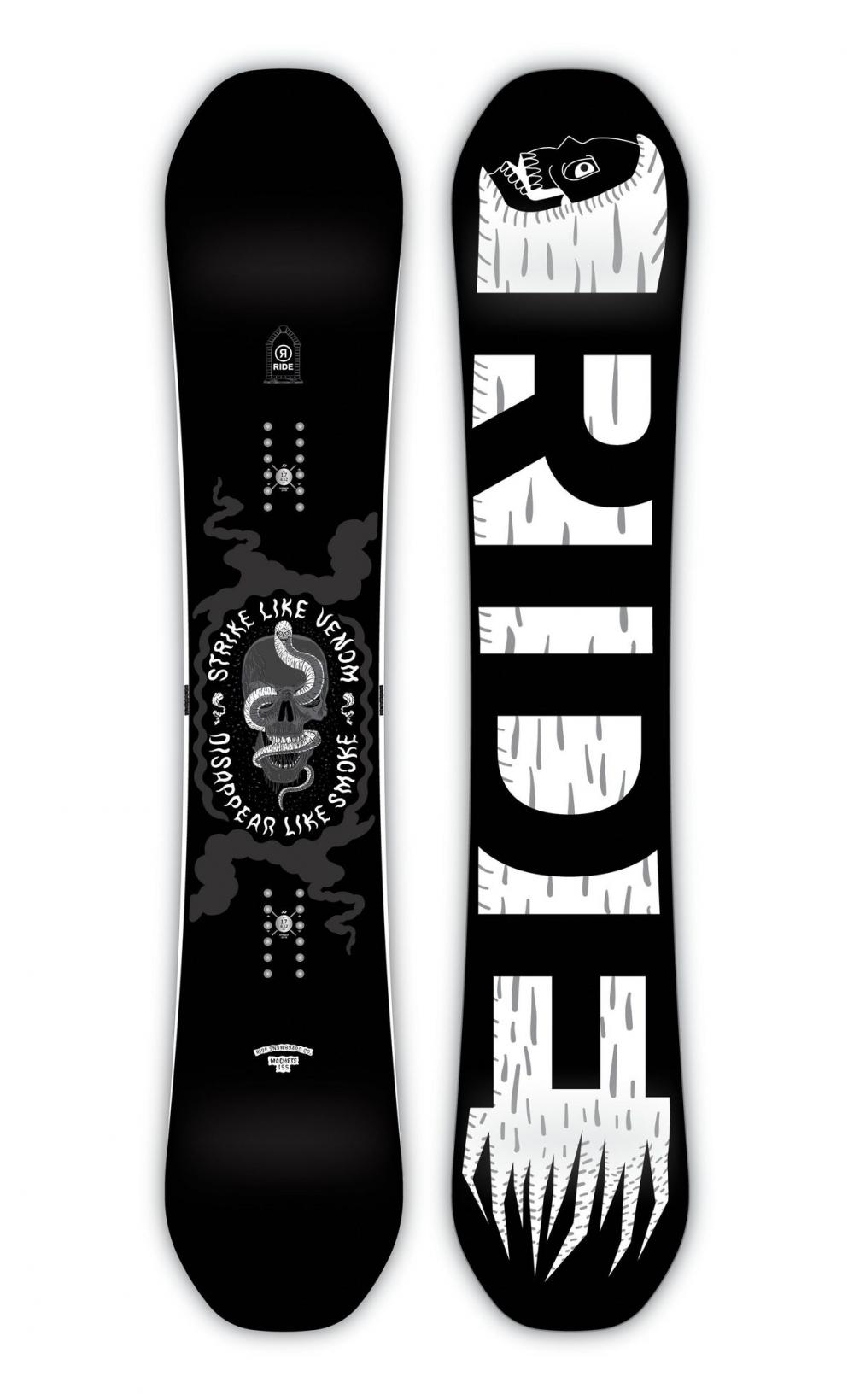 SNOWBOARD RIDE MACHETE WIDE 154 cm 2019