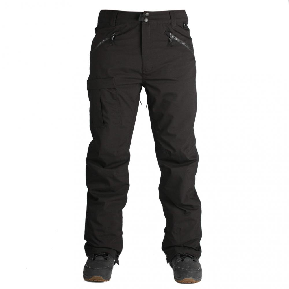 HLAČE RIDE YESLER PANT M black stretch 2019