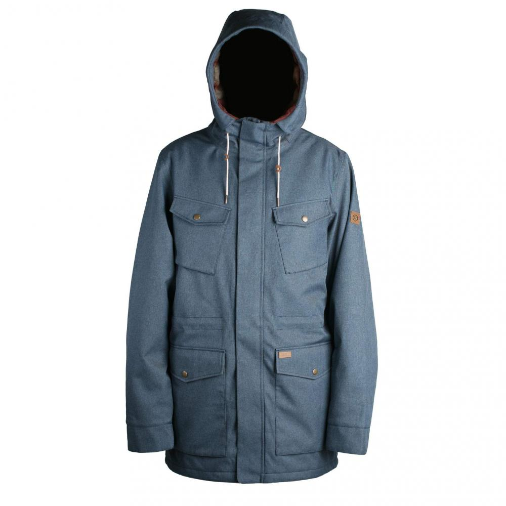 BUNDA RIDE UNION PARKA L denim melange 2019