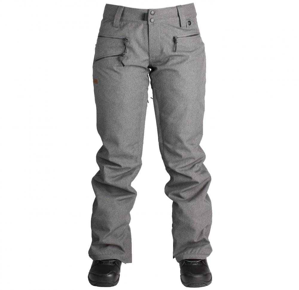 HLAČE RIDE LESHI PANT ŽENSKE M charcoal heather 2019